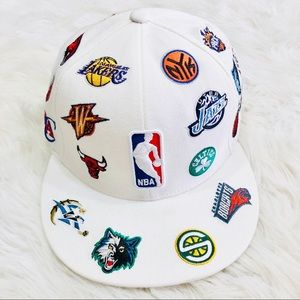 ⭐️Rare⭐️ Adidas NBA all team fitted hat